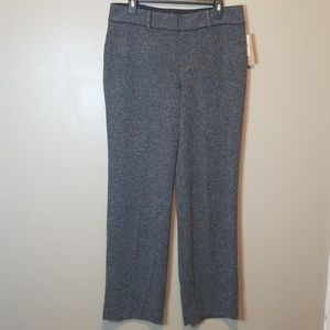 Coldwater Creek NWT Tweed Knit Trouser